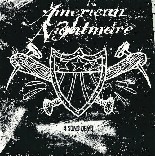 "Buy – American Nightmare ""4 Song Demo"" 7"" – Band & Music Merch – Cold Cuts Merch"