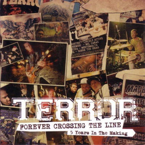 "Terror ""Forever Crossing The Line: 5 Years In The Making"" CD"