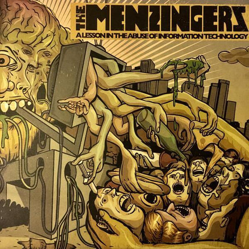 "Buy – The Menzingers ""A Lesson in the Abuse of Information Technology"" 12"" – Band & Music Merch – Cold Cuts Merch"