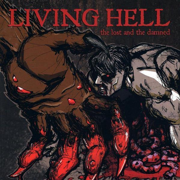 "Buy Now – Living Hell ""The Lost and The Damned"" 12"" – Cold Cuts Merch"