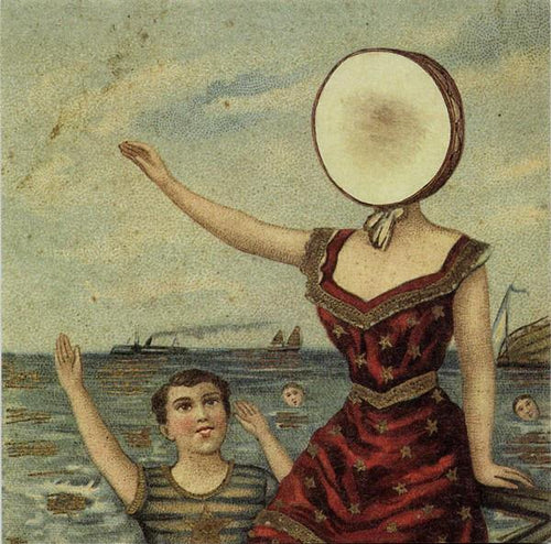 "Neutral Milk Hotel ‎""In The Aeroplane Over The Sea"" 12"""