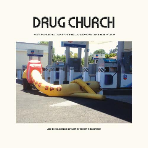 "Drug Church ""Party At Dead Man's b/w Selling Drugs From Your Mom's Condo"" 7"""