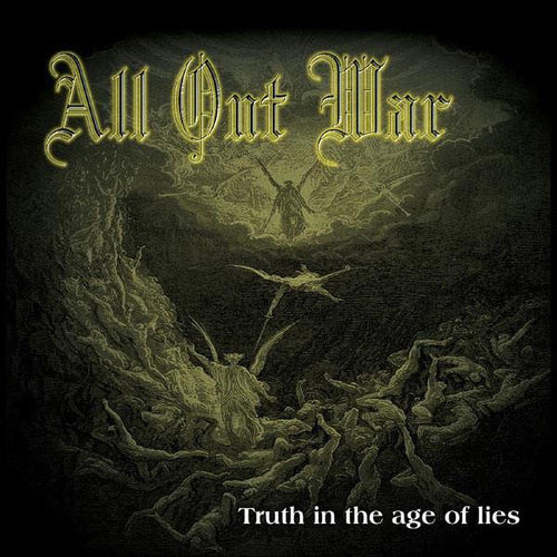 "Buy – All Out War ""Truth In The Age Of Lies"" 12"" – Band & Music Merch – Cold Cuts Merch"