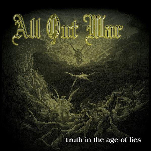 "Buy – All Out War ""Truth In The Age Of Lies"" CD – Band & Music Merch – Cold Cuts Merch"