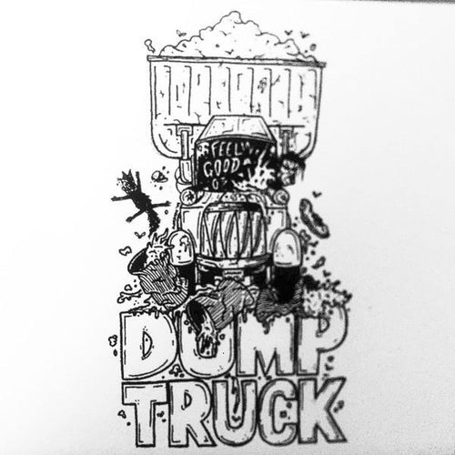 "The Wrong Side ""Dump Truck Demo"" 7"""