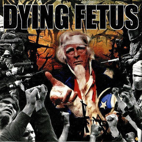 "Dying Fetus ""Destroy The Opposition"" 12"""