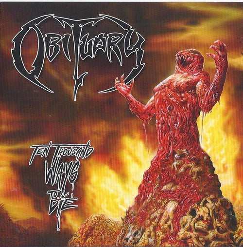 "Obituary ‎""Ten Thousand Ways To Die"" 12"""