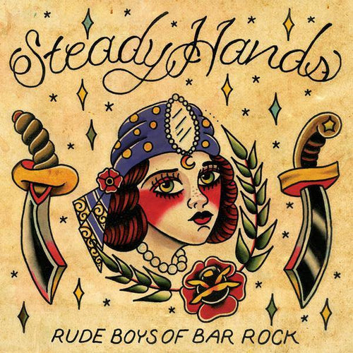 "Buy – Steady Hands ""Rude Boys Of Bar Rock"" 2xLP – Band & Music Merch – Cold Cuts Merch"