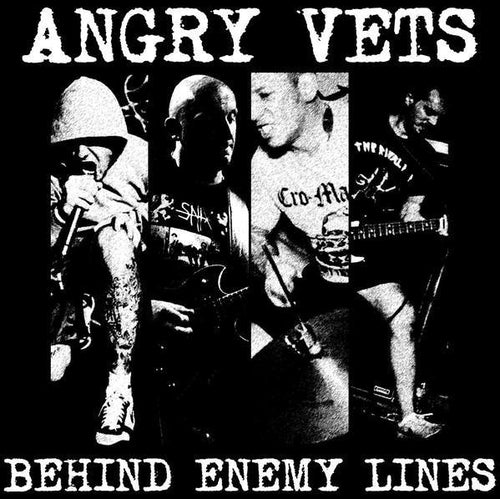 "Buy – Angry Vets ""Behind Enemy Lines"" 12"" – Band & Music Merch – Cold Cuts Merch"