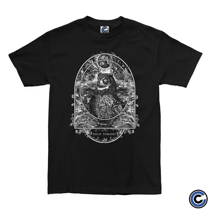 "Buy Now – Rolo Tomassi ""Owl"" Shirt – Cold Cuts Merch"