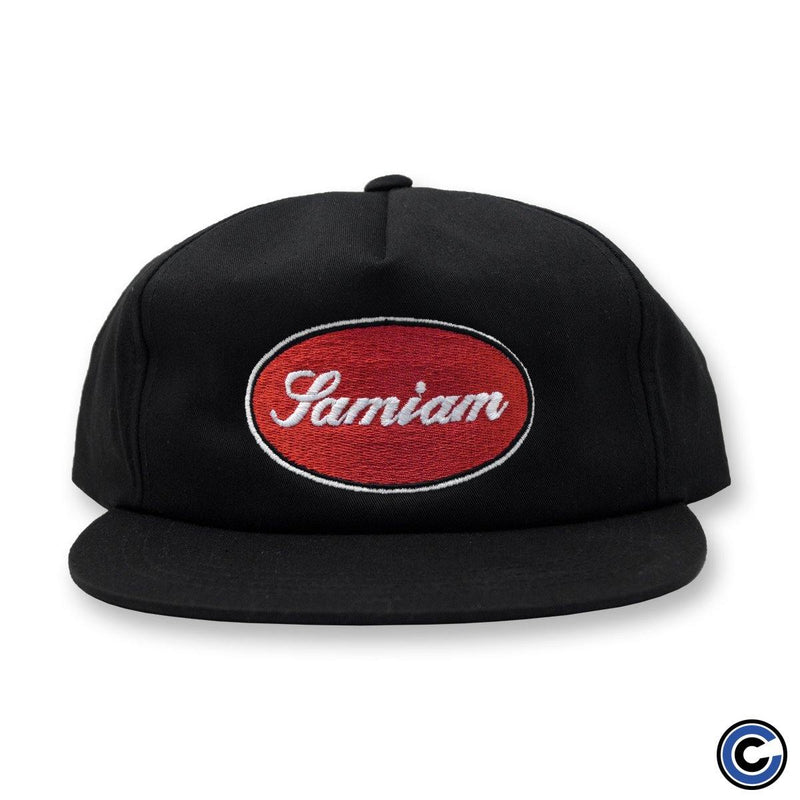 "Samiam ""Oval Logo"" Unstructured 5-Panel"