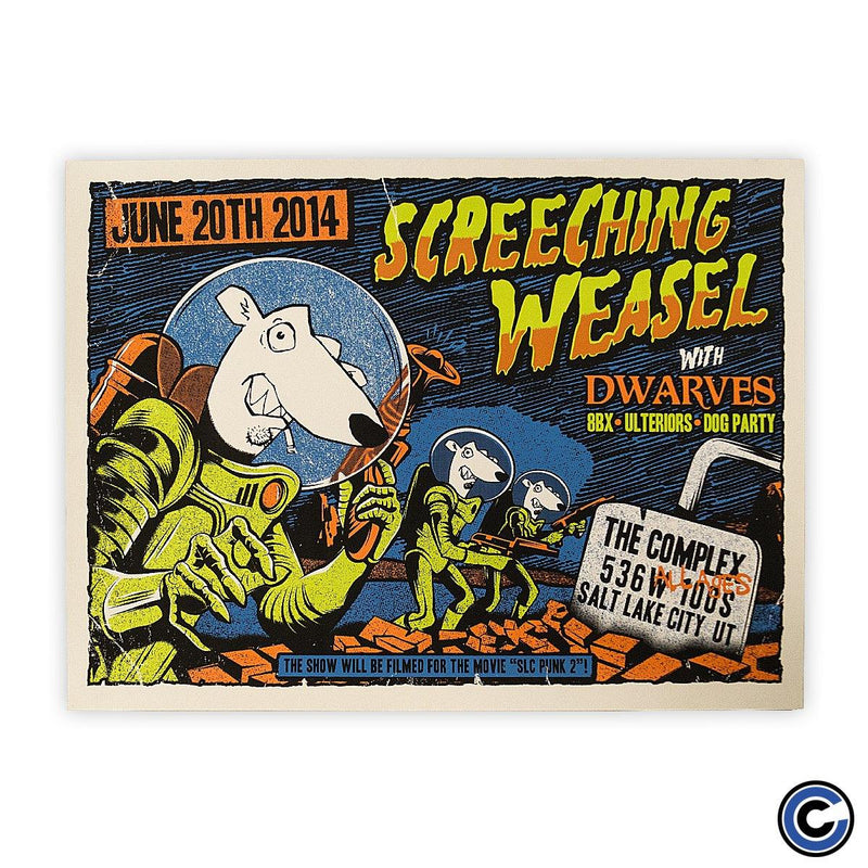 "Screeching Weasel ""Attacks"" Poster"