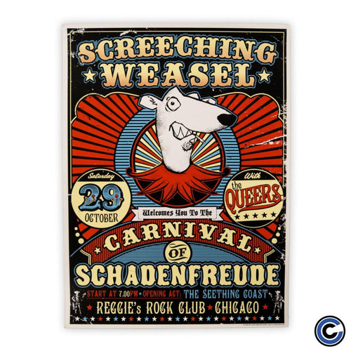 "Screeching Weasel ""Carnival"" Poster"
