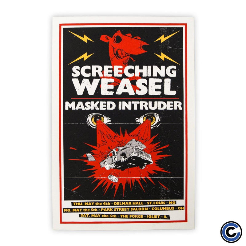 "Screeching Weasel ""Car Wreck"" Poster"