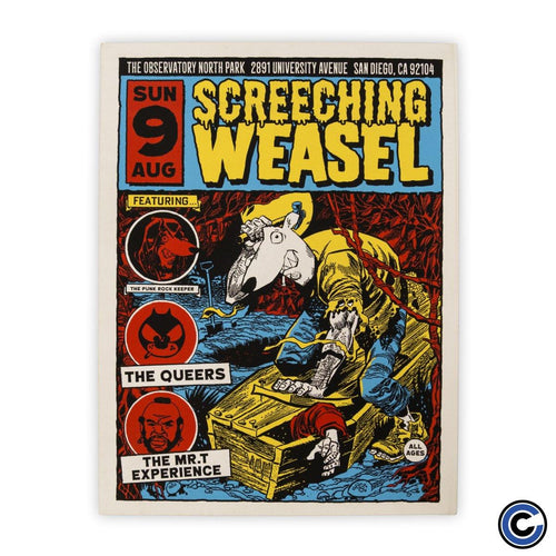 "Screeching Weasel ""Coffin"" Poster"