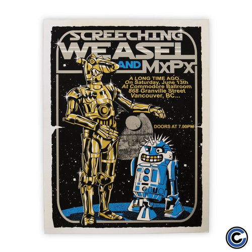 "Screeching Weasel ""Droids"" Poster"