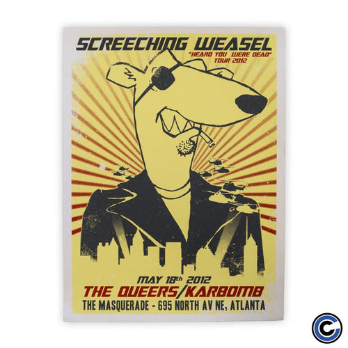 "Screeching Weasel ""Escape"" Poster"