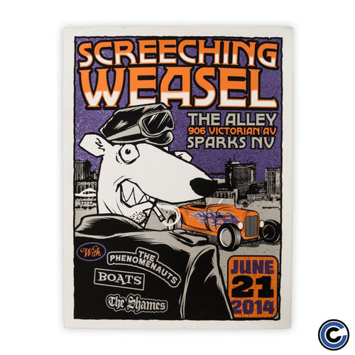 "Screeching Weasel ""Hot Rod"" Poster"