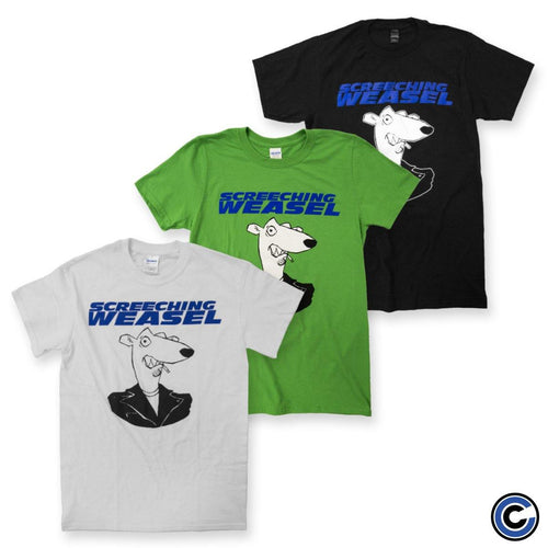 "Screeching Weasel ""Italic Weasel"" Shirt"