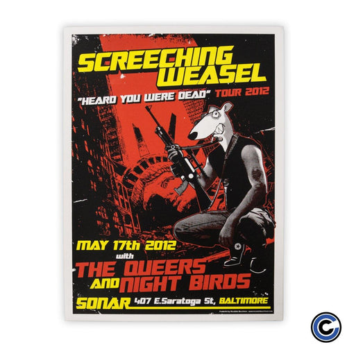 "Screeching Weasel ""Liberty"" Poster"