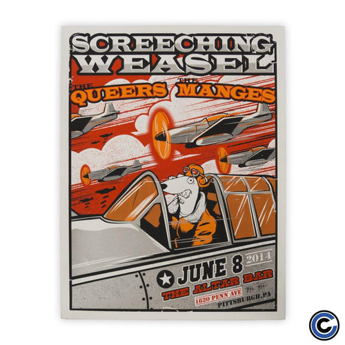 "Screeching Weasel ""Pilot"" Poster"