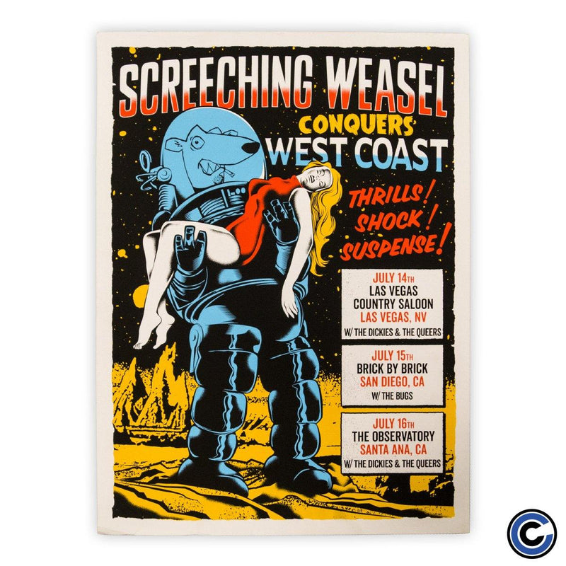 "Screeching Weasel ""Planet"" Poster"
