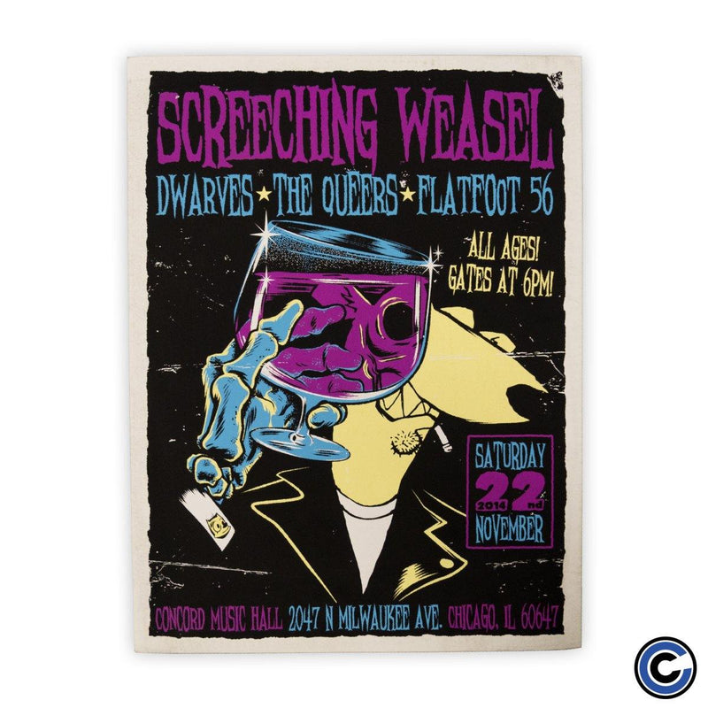 "Screeching Weasel ""Purple Drank"" Poster"