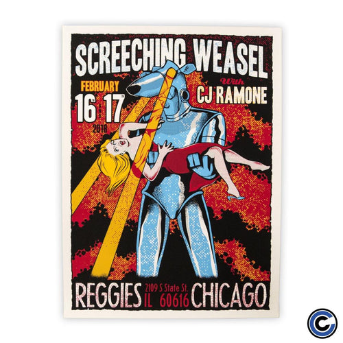 "Screeching Weasel ""Robot"" Poster"