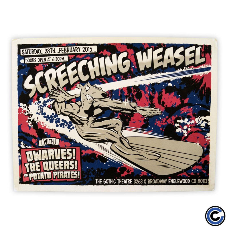 "Screeching Weasel ""Silver Surfer"" Poster"