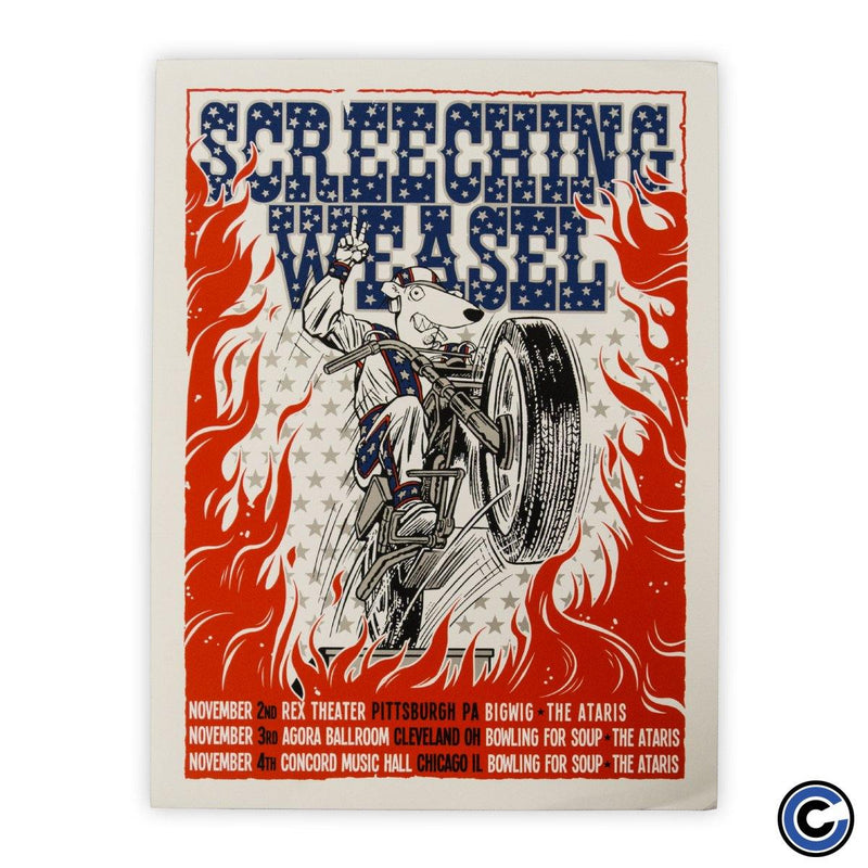 "Screeching Weasel ""Stunt Man"" Poster"
