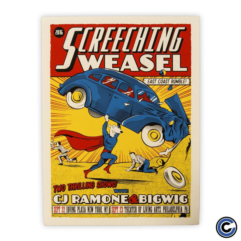 "Screeching Weasel ""Super"" Poster"