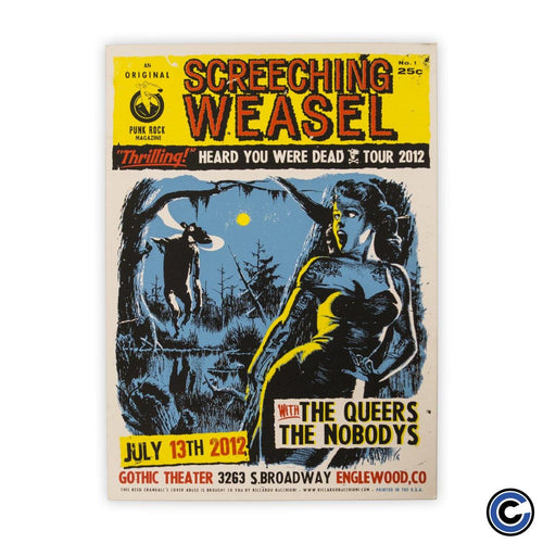 "Screeching Weasel ""Swamp Thing"" Poster"