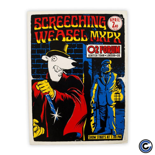 "Screeching Weasel ""The Ripper"" Poster"
