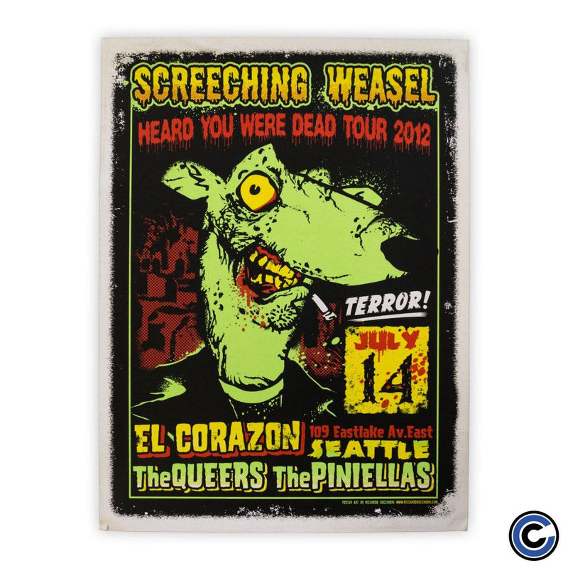 "Screeching Weasel ""Zombie"" Poster"