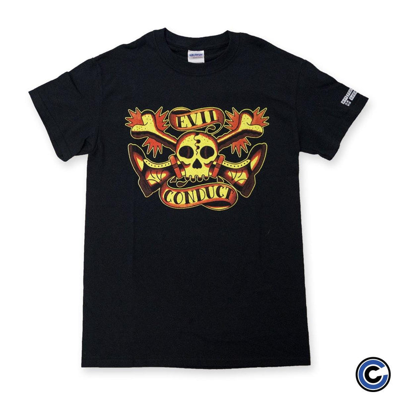 "Evil Conduct ""Boot Skull"" Shirt"