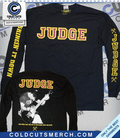 "Judge ""Bringin' It Down"" Longsleeve"