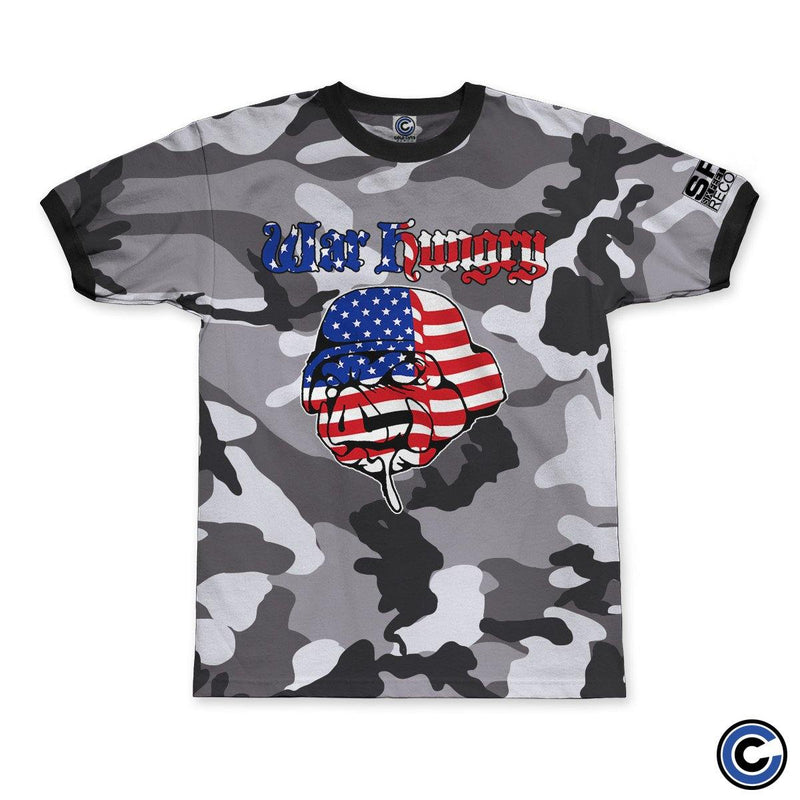 "War Hungry ""Pig"" Grey Camo Shirt"