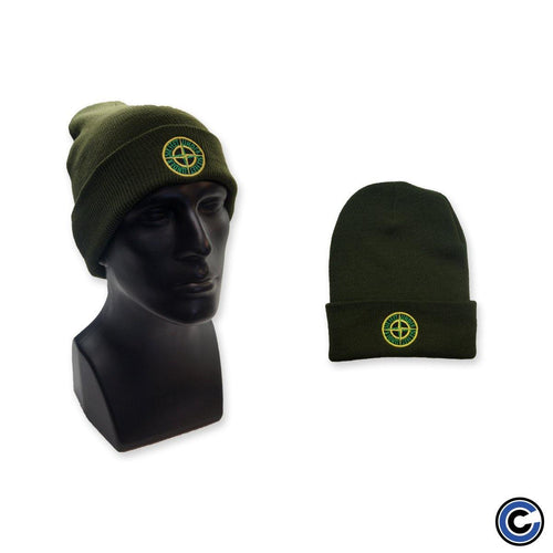 "Six Feet Under ""Compass"" Olive Beanie"