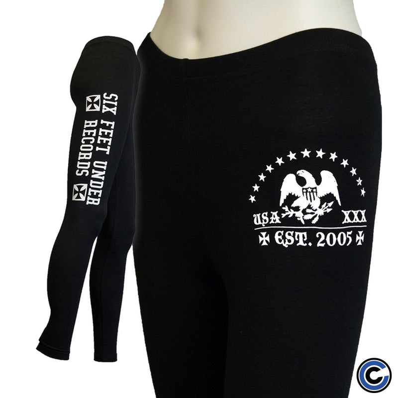 "Six Feet Under ""Logo"" Leggings"