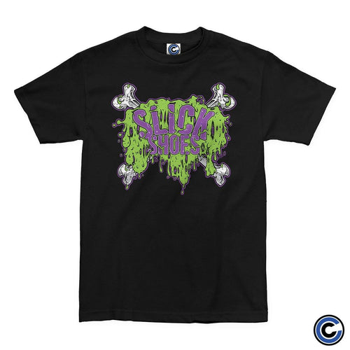 "Slick Shoes ""Slimey Crossbones"" Shirt"