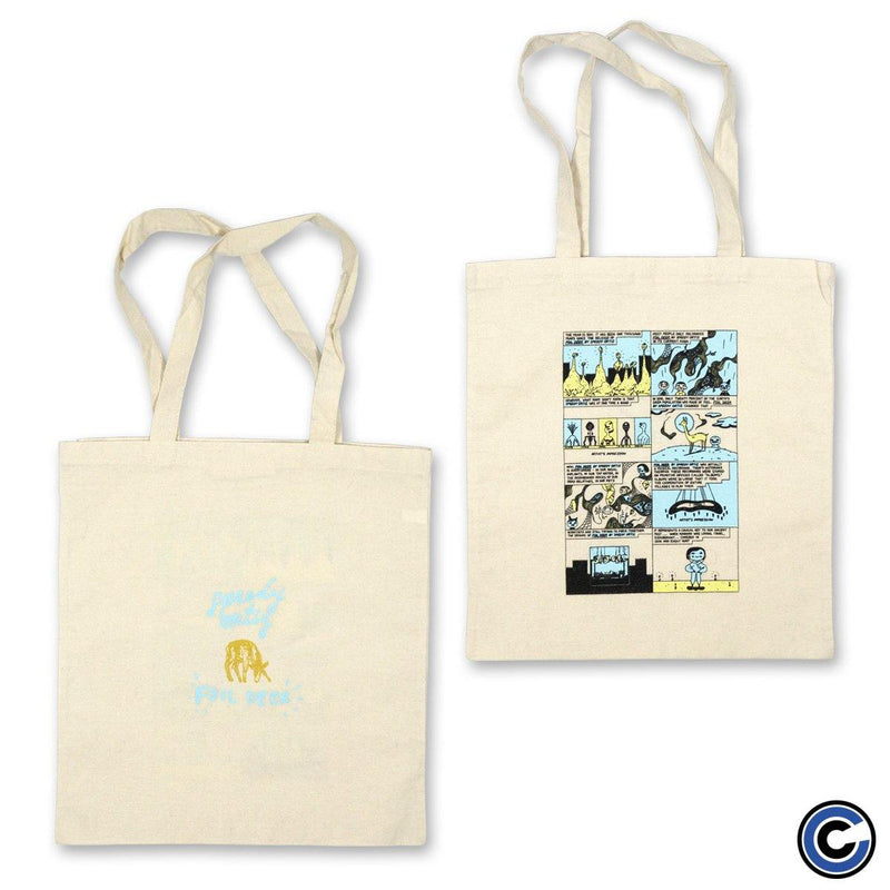 "Speedy Ortiz ""Biography"" Tote Bag"
