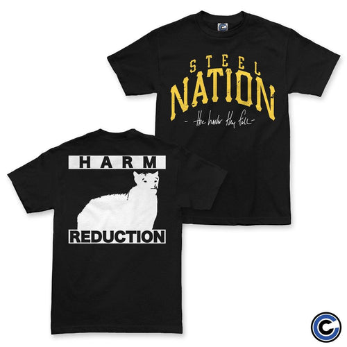 "Steel Nation ""Harder They Fall"" Shirt"