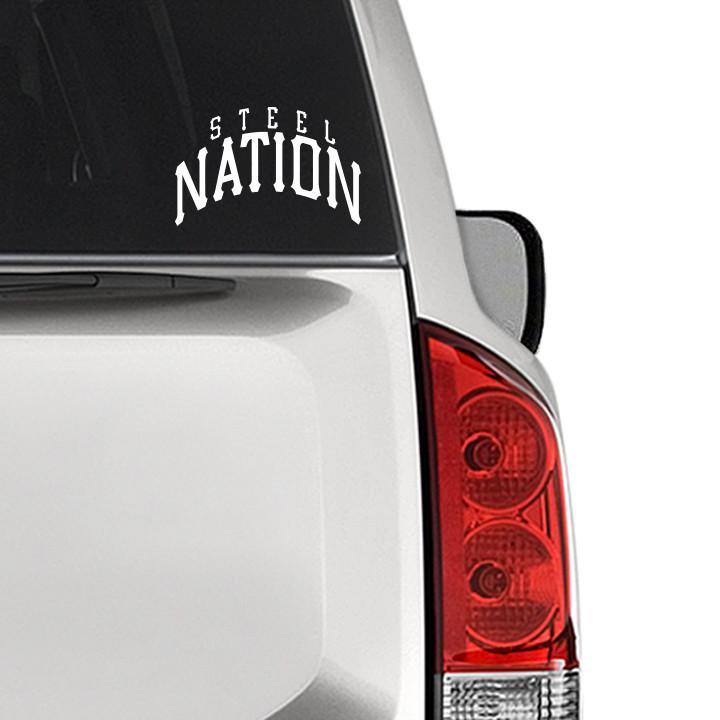 "Steel Nation ""Logo"" Cut Vinyl Decal"