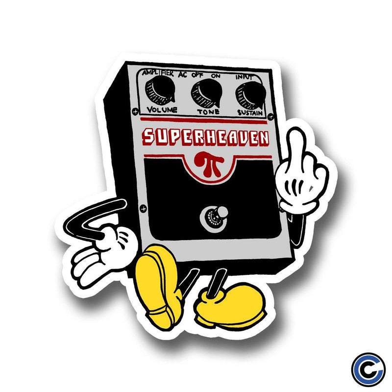 "Superheaven ""Big Muff"" Die Cut Sticker"