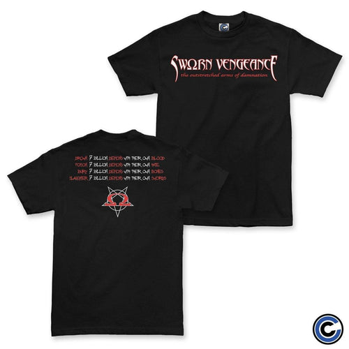 "Sworn Vengeance ""Arms of Damnation"" Shirt"
