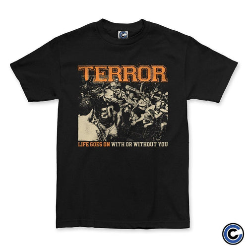 "Terror ""Life Goes On"" Shirt"