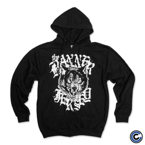 "Buy – The Banner ""Jersey Wolf"" Zip Hoodie – Band & Music Merch – Cold Cuts Merch"
