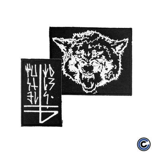 "Buy – The Banner ""Wolf and Symbols"" Patch Set – Band & Music Merch – Cold Cuts Merch"