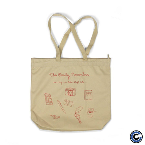 "The Early November ""Stuff"" Canvas Bag"