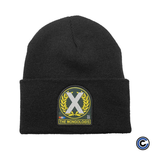 "Buy – The Mongoloids ""X Patch"" Beanie – Band & Music Merch – Cold Cuts Merch"